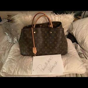 Authentic Louis Vuitton Montaigne GM
